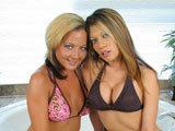 Extreme Sophia & Moni Michaels on couplesseduceteens