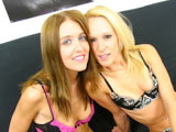 Angelica Lane & Erin Moore on pinkvisualpass