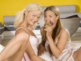 Suzi Carina & Jenny M on couplesseduceteens