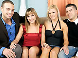 The Cassidys & The Loves on allstarrealityporn