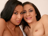 Kitty Saliery & Hana Black on couplesseduceteens