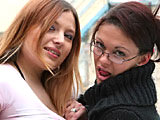 Katrina & Sandy - V2 on herfirstlesbiansex