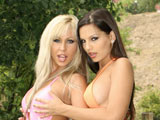 Eve Angel Adrianna Russo & Clara G on gangbangsquad