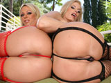 Brianna Beach & Darryl Hanah on bubblebuttsgalore