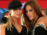 Anita Pearl & Clara G on pinkvisualpass