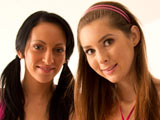 Leonelle Knox & Kattie Gold on pinkvisualpass