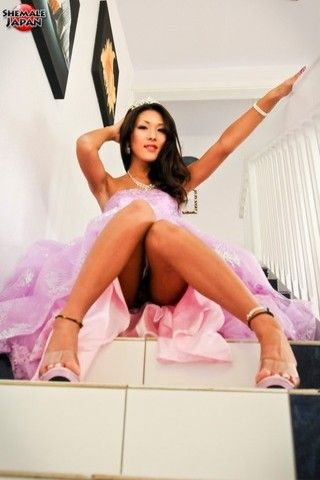 Nehalf princess on shemalejapantbms