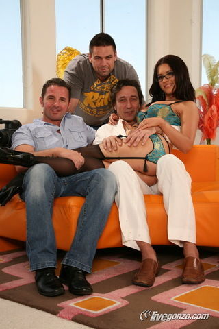 Eva Angelina, David Perry, Steve Holmes - Part 1 on livegonzotbms