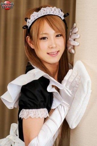 Misaki Sakurai: Room Service! on mobile.shemalejapan