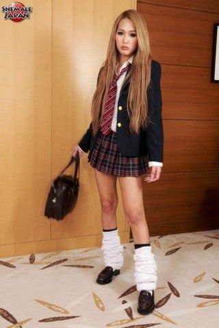 Beni The Naughty Schoolgirl! on shemalejapantbms