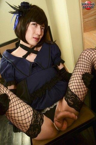 Goth Newhalf Sumire Sawada! on shemalejapantbms