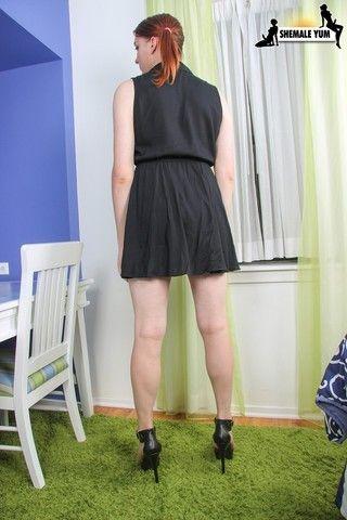 Sexy Redhead Alyssa Ion! on shemaleyumtbms