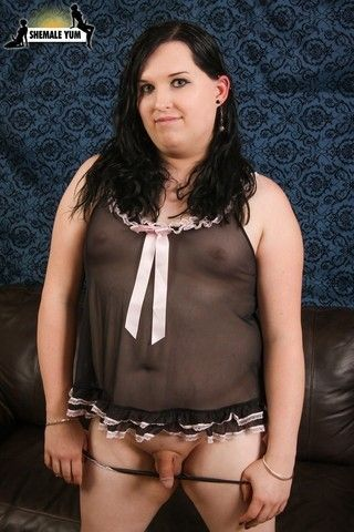 BBW Transgirl Allie & Her Sex Toys! on shemaleyumtbms