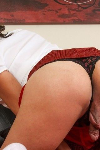 Delicious Schoolgirl Kallie Koxxx! on shemaleyumtbms