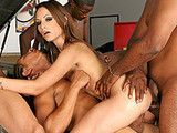 Amber Rayne on gangbangjunkies
