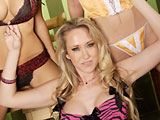 Alana Evans on squirthunter