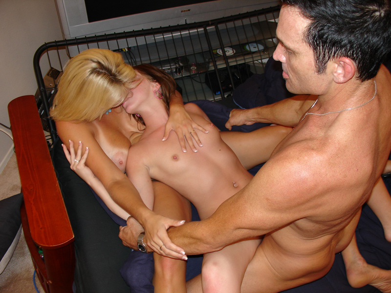 Couples having oral sex