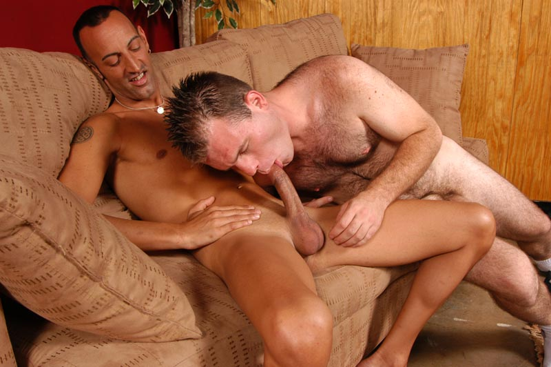 Straight guy first gay sex