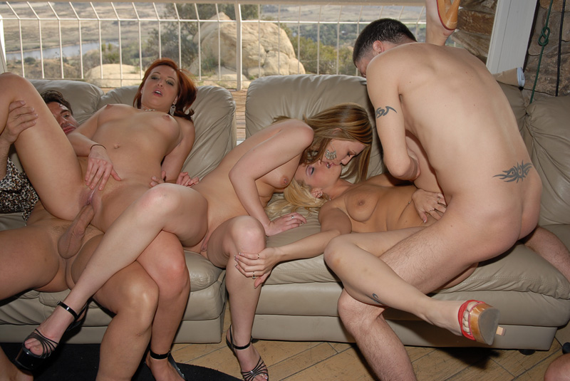 Naughty at home foursome