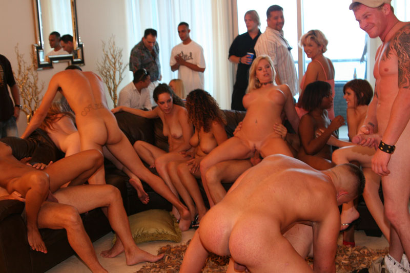 An Orgy Sex Party of course!