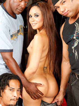 Jaslin Diaz on gangbangsquad