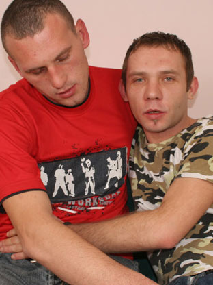 Filip & Vlada on hisfirstgaysex