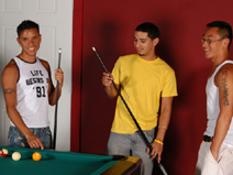 Pool Hall Hookup - V2 on hisfirstgaysex