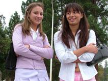 Bobbi and Samantha - V2 on herfirstlesbiansex