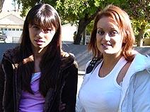 Bobbi Blair & Monica Mayhem on herfirstlesbiansex