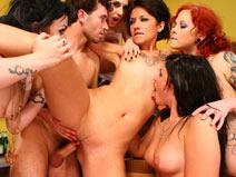 Orgy in Aisle 5 on burningangeltbms