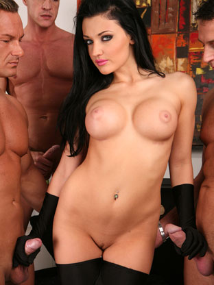 Aletta Ocean on assgonzo