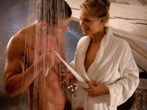 Steamy Shower on eroticmind