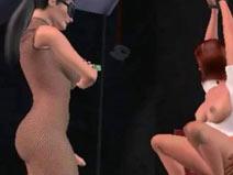 Tranny Bondage on pinkvisualpad