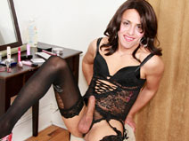 New York TGirl Rebecca on shemaleyumtbms