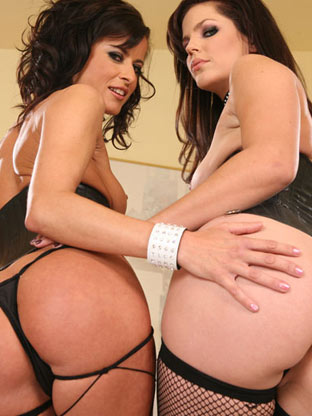 Bobbi Star & Cecilia Vega on monstercockjunkies
