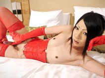 Rei in Red on shemalejapantbms
