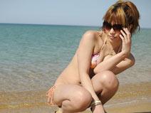 Beachside with Jyuri on shemalejapantbms
