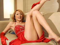 Hime in Red on shemalejapantbms