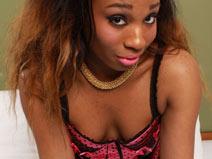 Hot Ebony Tgirl Joy on blacktgirlstbms