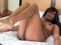 Beautiful and Curvy Vivian on blacktgirlstbms
