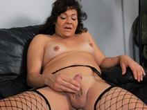 Gina's Perky Natural Breasts on blacktgirlstbms