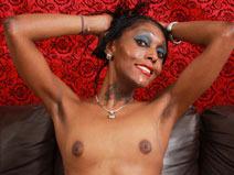 Poursha Shows Her Hot Body! on blacktgirlstbms