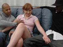 Michelle on herfirstbigcock