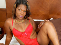 Natural Hottie Roxxie Rose on blacktgirlstbms