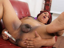 Sexy BBW Jazelle Love! on blacktgirlstbms
