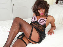Tall & Slender NY Tgirl Celine! on blacktgirlstbms
