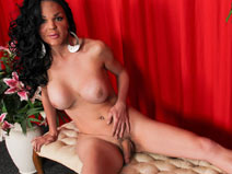 Hot Latin Tgirl Eva Is Back! on shemaleyumtbms