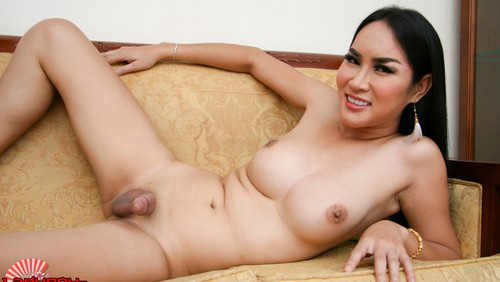 Gorgeous At In See-Through Lingerie! on mobile.ladyboy-ladyboy