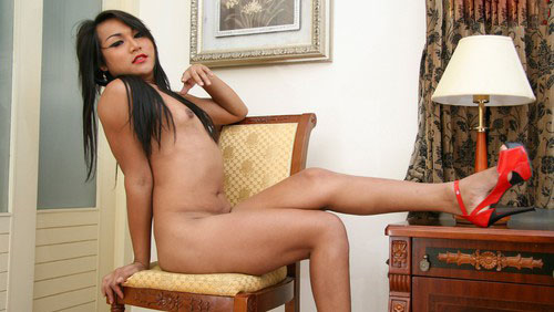 All Natural Gwang Jerks Off! on mobile.ladyboy-ladyboy