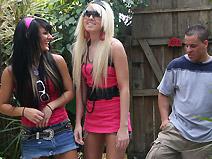 Alexia Sky & Persia DeCarlo on pinkvisualpad